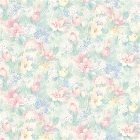wall photo gallery template 414 75868 pastel floral motif brewster wallpaper