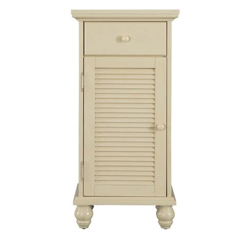 home depot bathroom storage cabinets home decorators collection cottage 17 in w x 35 in h