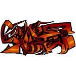 Graffiti Transparent Background Clipart Orange Japanese Digital