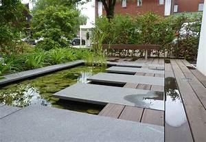 Bassin de jardin moderne bassin de jardin for Bassin de jardin moderne