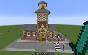 School With Bell Tower, creation #2826