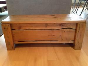 Banc Coffre Bois : chaise rotin pas cher meubles et rangements coffre banc en bois avec rangement image ad big ~ Teatrodelosmanantiales.com Idées de Décoration