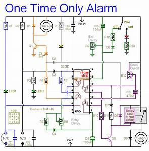 How To Build A Burglar Alarm Circuit