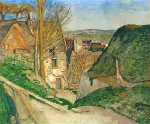 Paul Cezanne La Maison Du Pendu painting La Maison Du Pendu print for sale