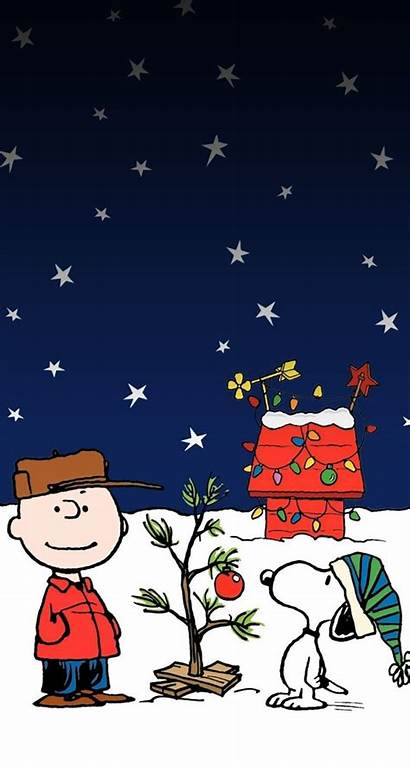 Christmas Brown Charlie Iphone Snoopy Wallpapers Merry