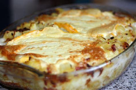 la cuisine traditionnelle tartiflette recette de tartiflette