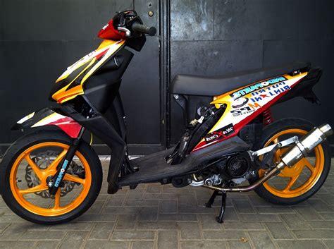 Gambar Modifikasi Beat 2010 by 77 Modifikasi Honda Beat Foto Gambar Terbaru Modif Motor