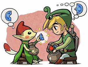 The Legend Of Zelda The Minish Cap Fiche Rpg Reviews