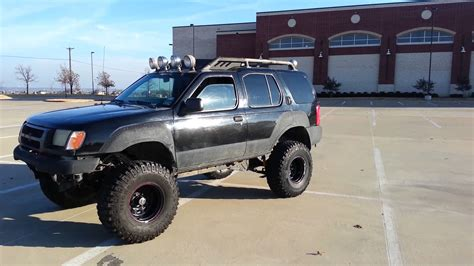 nissan xterra lift kit xterra lifted on 35s youtube