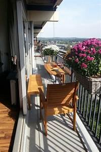 Balkon Bank Klein : optie voor een klein balkon small balcony pinterest ~ Michelbontemps.com Haus und Dekorationen
