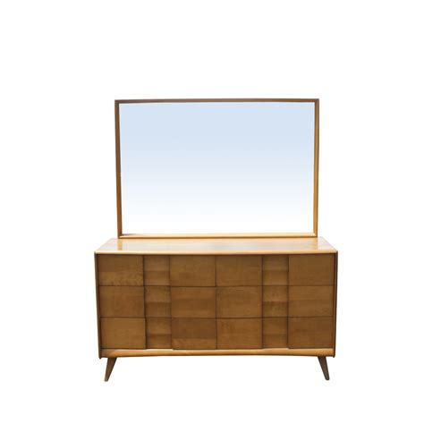 Heywood Wakefield Dresser With Mirror by Heywood Wakefield Trophy Suite Dresser And Mirror Ebay