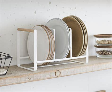 store scandi triple vertical plate rack
