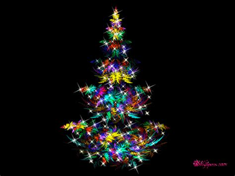 trs desktop christmas tree with blinking lights images