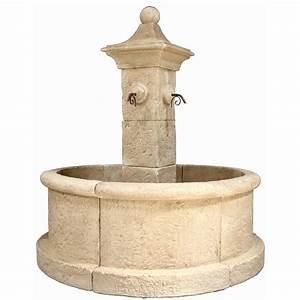 Fontaine D Exterieur En Pierre : fontaine en pierre reconstitu e pierre vieillie elios ~ Premium-room.com Idées de Décoration
