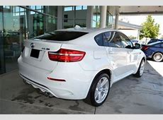 Export New 2013 BMW X6 M WHITE ON BLACK