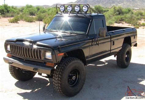 jeep truck black jeep other j10 truck
