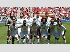 Real Madrid squad to face Manchester United in UEFA Super