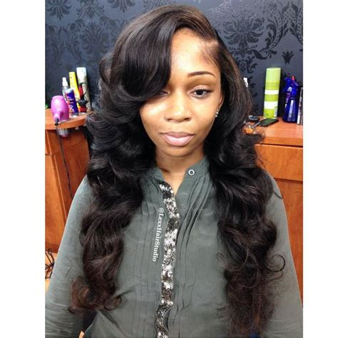 18 Inch Sew In Hairstyles by 81 Best Weaves Sew Ins Thangs Images On