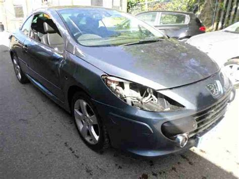 peugeot sports cars for sale peugeot 2008 307 sport convertible damaged repairable car