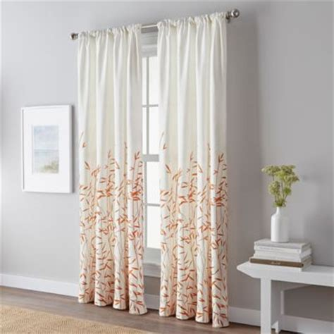 coral colored shower curtain buy coral colored curtains from bed bath beyond