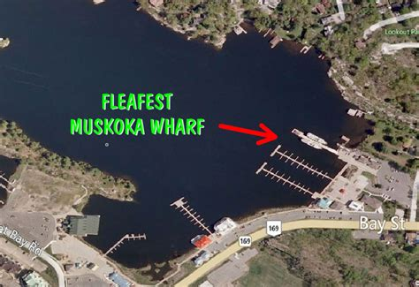 Boat Launch Gravenhurst by Location Maps And Directions Fleafest 2013