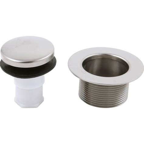 delta tub drain parts delta bathwaste tub drain in stainless rp31558ss the
