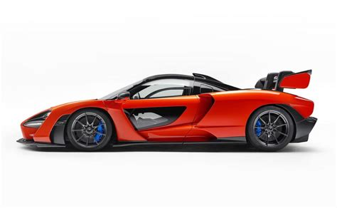 mc laren senna mclaren senna revealed as ultimate road track car