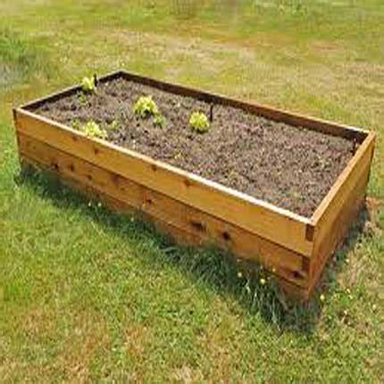 raised garden bed kit cedar raised bed garden kits 2 x4