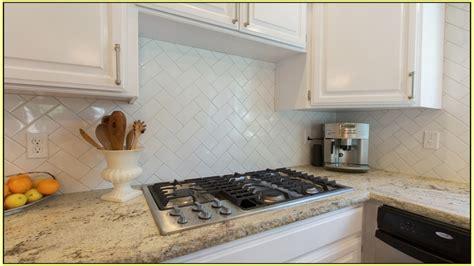 Beveled Subway Tile Backsplash : Improvements Refference Beveled Subway Tile Backsplash