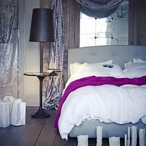 Romantic grey and white bedroom   Bedroom designs ...