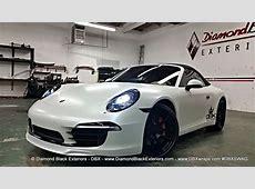 2013 Porsche Carrera 911 S Wrapped in Satin Pearlescent