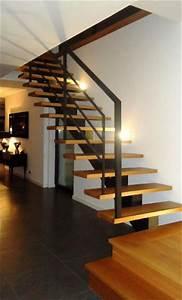 Escalier Fer Et Bois : escalier en fer forg trucs et deco ~ Dailycaller-alerts.com Idées de Décoration
