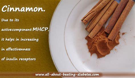 curing diabetes  cinnamon benefits