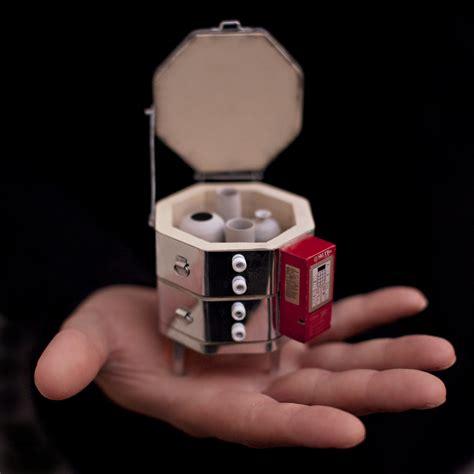 miniature hand thrown ceramics  equipment  jon