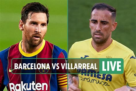 Barcelona Vs Villarreal Live In India - trendskita