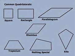 Here are the different...Types Of Quadrilaterals