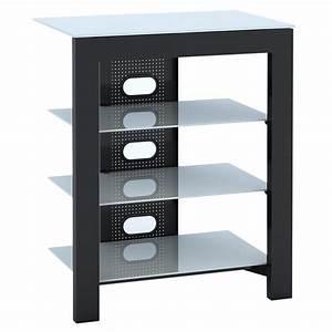 Meuble Tv Hifi : de conti arca xl blanc meuble tv de conti sur ~ Teatrodelosmanantiales.com Idées de Décoration