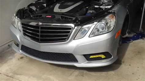 how to change headl bulbs in your mercedes e class