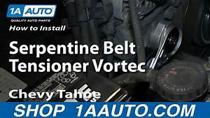 How To Replace Serpentine Belt Tensioner 96