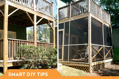 diy screened in porch what i learned building a screened in porch
