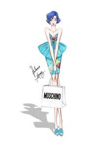 buy roses sailor mercury in moschino by frozen winter prince
