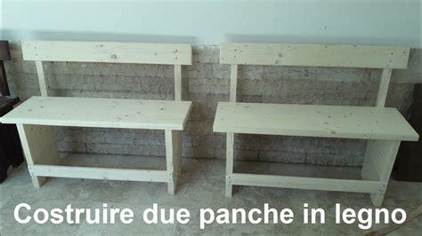Costruire Una Panchina In Legno by Panchina In Legno Da Interno Cassapanca Panca Baule Box