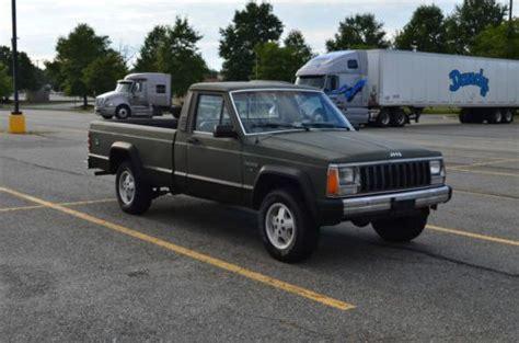 1986 jeep comanche 4x4 purchase used 1986 jeep comanche mj pickup 4x4 v6 5 spd