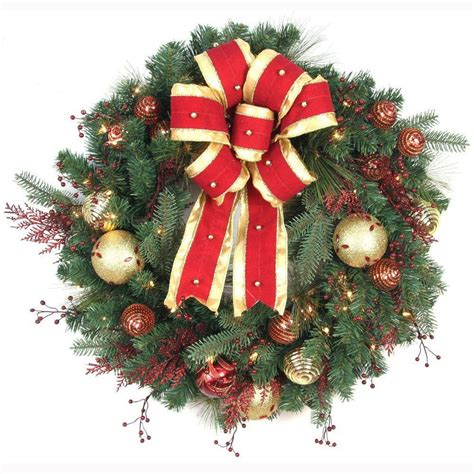 lighted christmas wreaths prelit christmas wreath buy