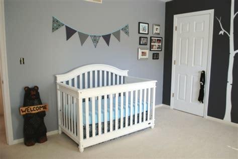 chambre bébé noir et blanc deco chambre bebe gris et blanc visuel 4