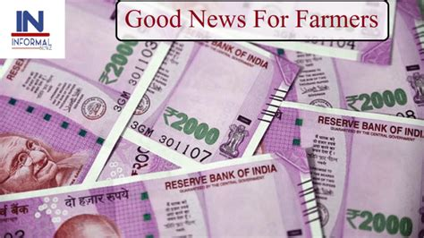 Good News For Farmers: Government Will Give Half The Money ...