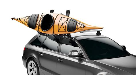 kayak carrier for car without roof rack best kayak roof rack easily mount it on your trucks