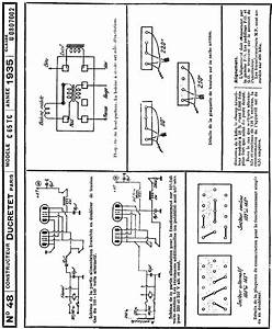 Ducretet C65tc Ac Receiver 1935 Sm Service Manual Download