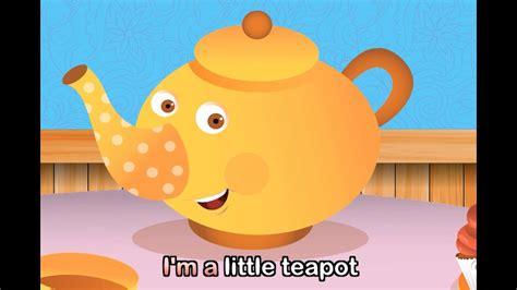 I'm A Little Teapot (with lyrics) - Nursery Rhymes by ...