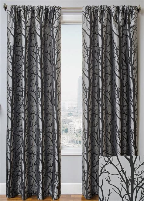 108 Inch Grommet Blackout Curtains by Element Tree Curtain Drapery Panels